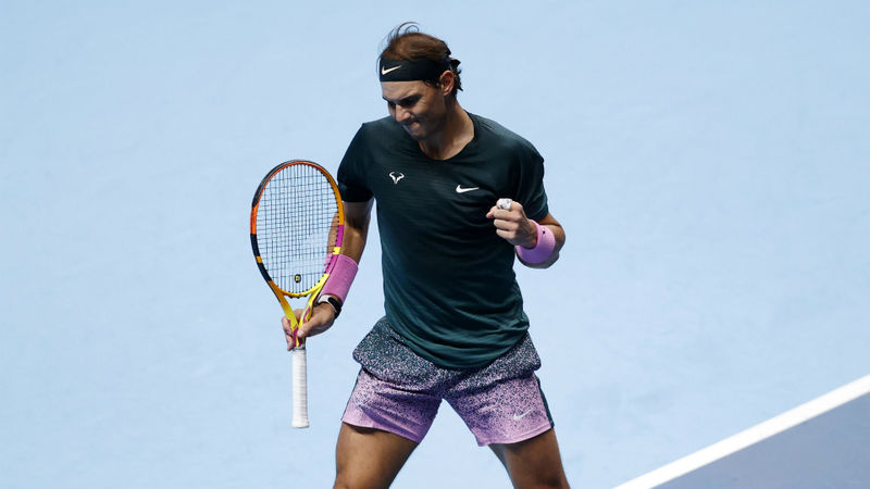 ATP Finals: Nadal ousts defending champion Tsitsipas to clinch semi-final spot