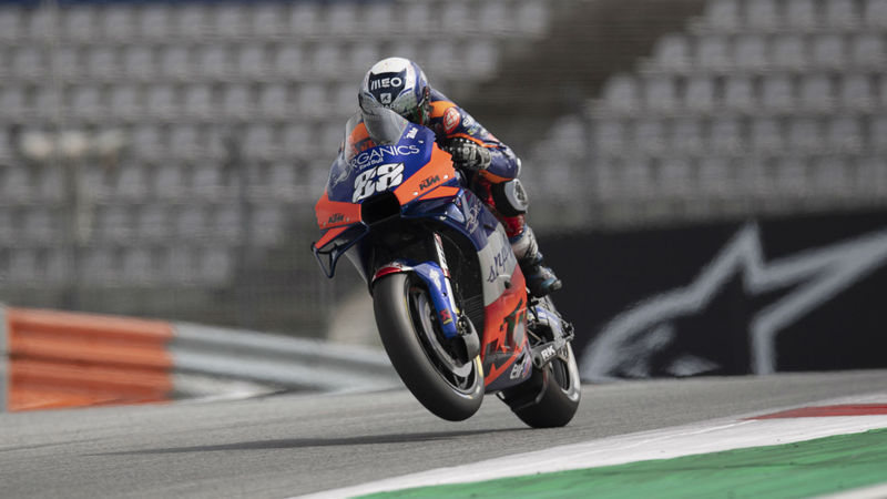 MotoGP 2020: Oliveira feels right at home in Portugal as Mir struggles