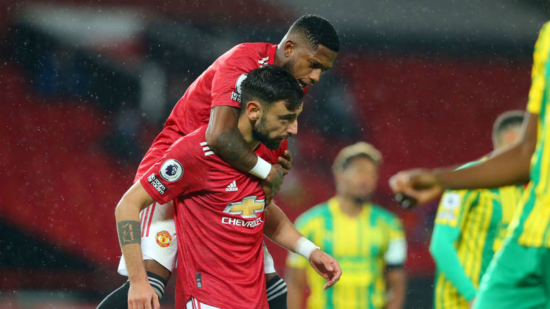 Manchester United 1-0 West Brom: Fernandes gives Red Devils controversial long-awaited home win