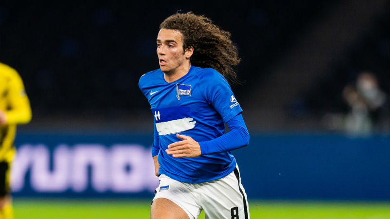 Arsenal outcast Guendouzi enjoying new lease of life at Hertha