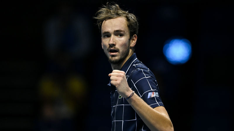ATP Finals: Medvedev roars back to beat Thiem in thriller