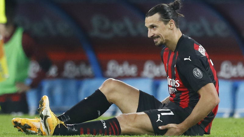 Milan awaiting news on Ibrahimovic injury as Bonera hails important Napoli win