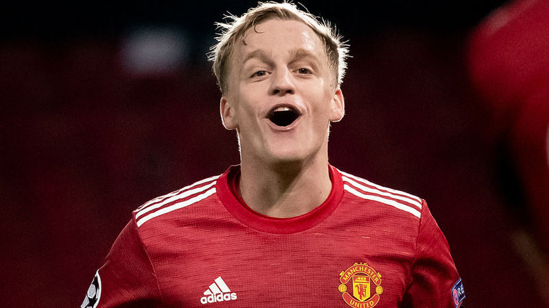 Van de Beek believes deeper role worked well in Man Utd victory
