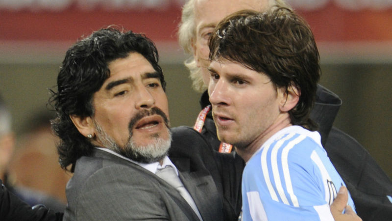 Diego Maradona dies: Messi and Ronaldo hail 'eternal' genius of Argentina great