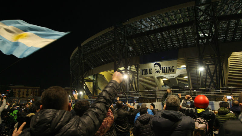 Diego Maradona dies: Napoli planning to rename stadium after club great