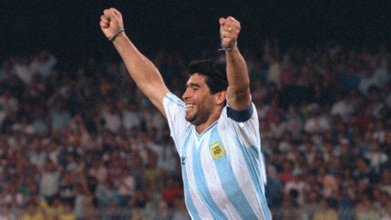 Diego Maradona dies: Solskjaer says Argentina legend 'the best that's ever played football'