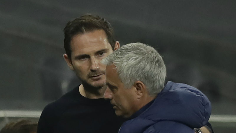Chelsea boss Lampard never expected to avoid Mourinho mind games
