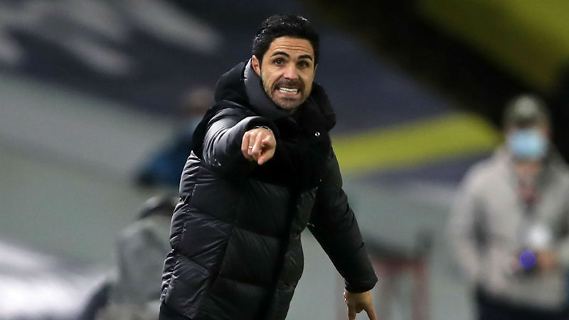 Arteta wants misfiring Arsenal to make Emirates Stadium a fortress
