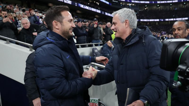 Lampard philosophical about changing Mourinho relationship