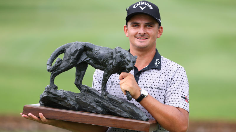 Home favourite Bezuidenhout wins Alfred Dunhill Championship