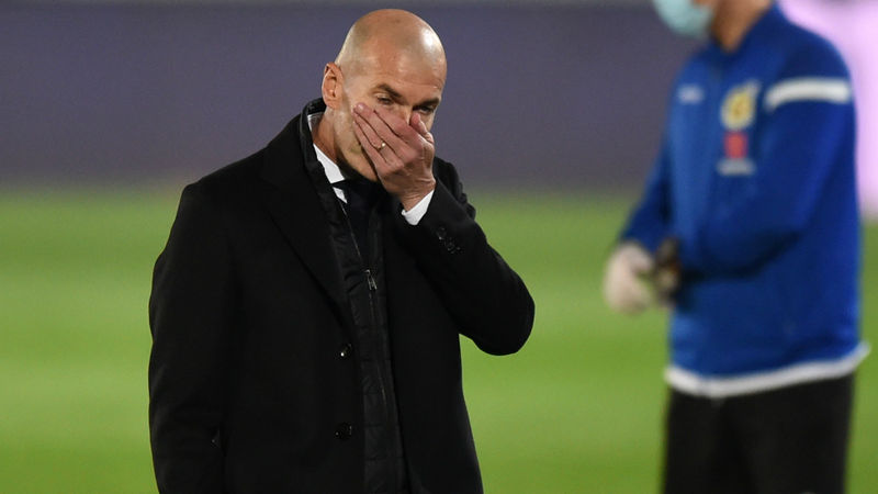 Madrid's Zidane alarmed by lack of consistency after shock LaLiga loss
