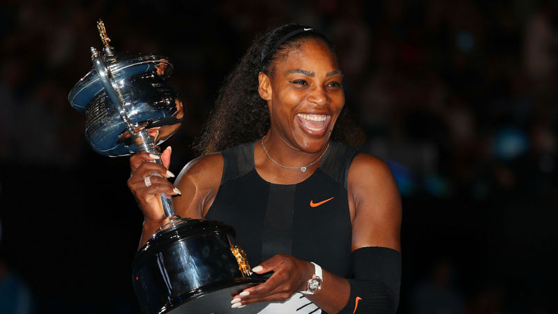 Serena Williams' first main-draw win 23 years on: The numbers behind a legend