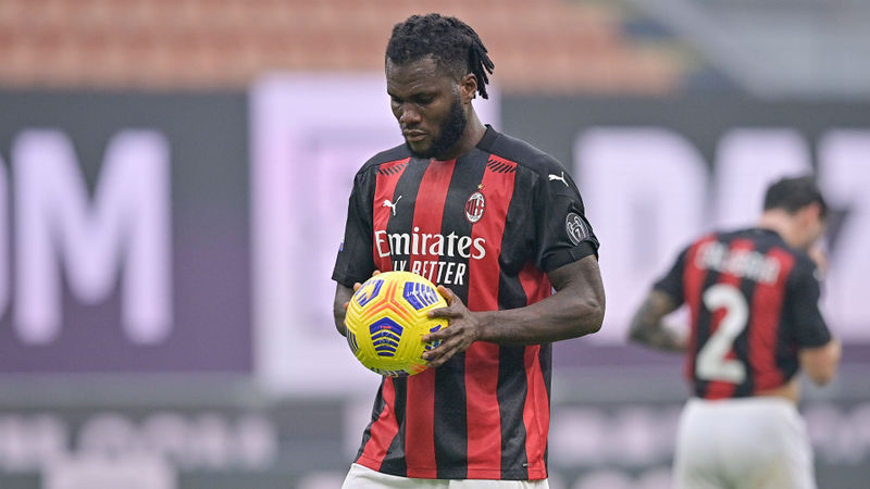 Milan star Kessie still wants penalties after hit and miss against Fiorentina