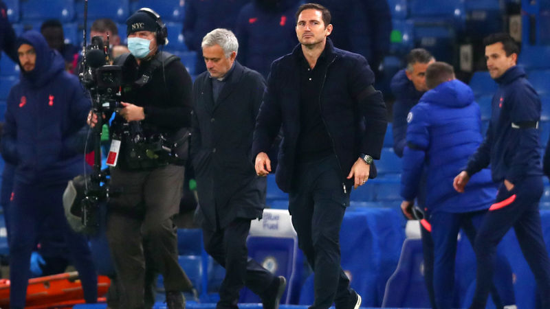 Tottenham 'just a pony' in Premier League title race? Lampard disagrees with Mourinho