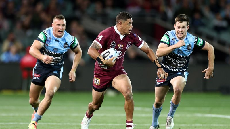 New South Wales 14-18 Queensland: Maroons debutants turn tide for Origin I win