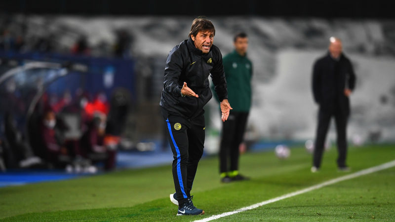 Conte 'satisfied' with Inter display and remains hopeful of Champions League progression