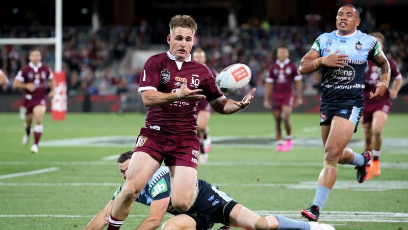 Brimson out of Origin series after dream Game I debut