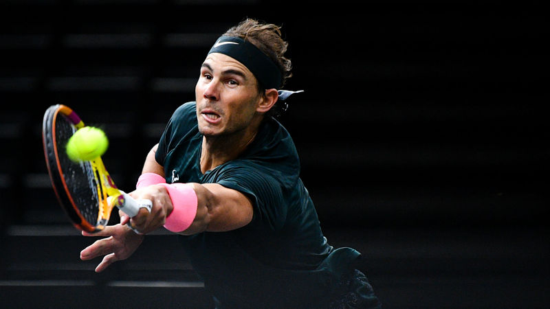 Nadal topples Thompson to reach Paris Masters quarter-finals