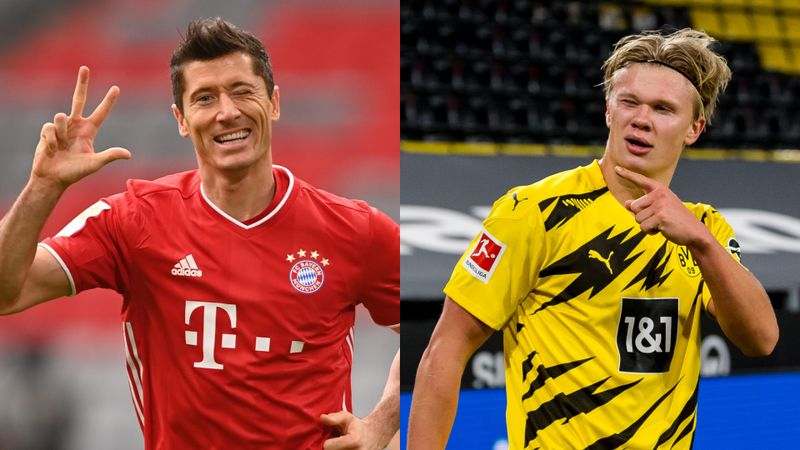Haaland 'almost obsessed with success' but Lewandowski comparisons are needless, says Zorc