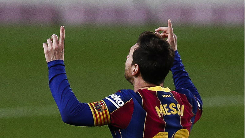 Barcelona 5-2 Real Betis: Messi scores double after starting on the bench