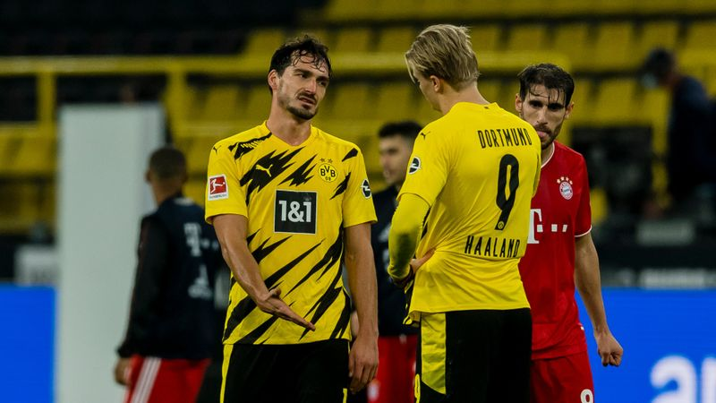 Defeat in 'incredible' Klassiker tough for Dortmund to accept