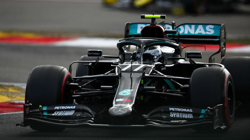 F1 2020: Bottas holds off Hamilton and Verstappen to take Nurburgring pole