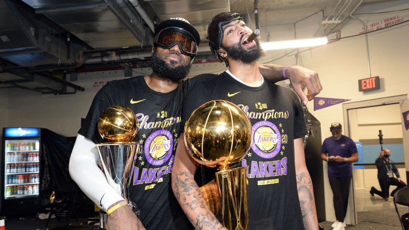 NBA Finals: Anthony Davis says 'respect' and 'true friendship' with LeBron James sparked Lakers
