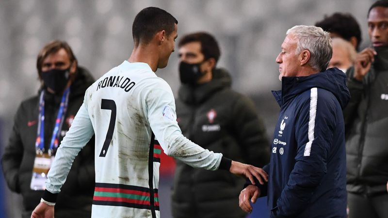 Deschamps delighted to silence Ronaldo in France-Portugal stalemate