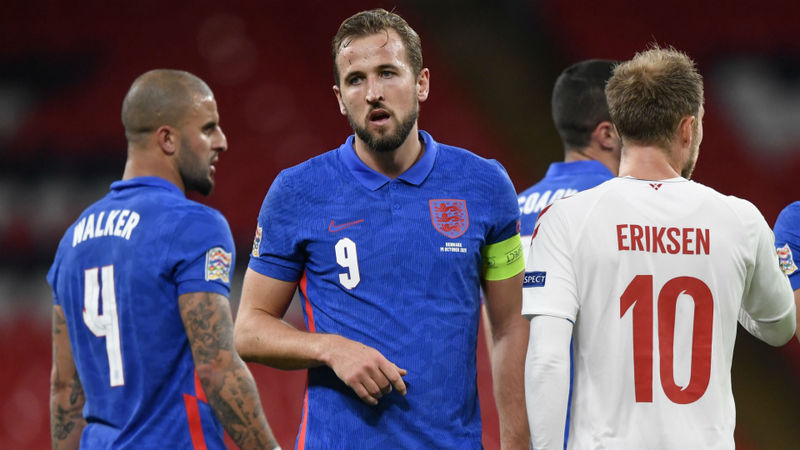 England captain Kane confident Maguire can 'bounce back' after Denmark dismissal