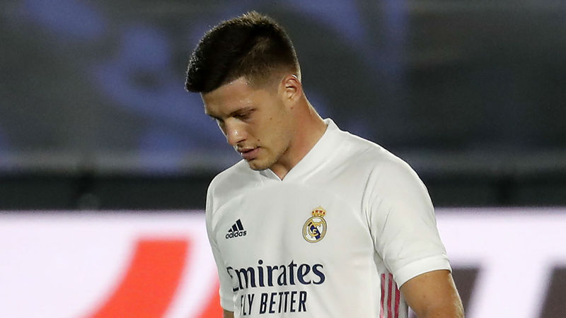 I want Jovic here - Zidane says Serbia striker has a part to play