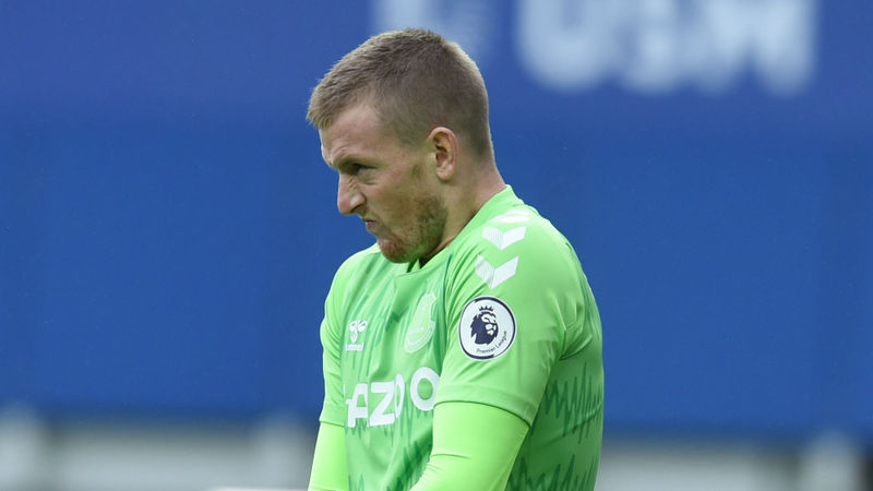 Ancelotti unconcerned by Pickford's Merseyside derby display