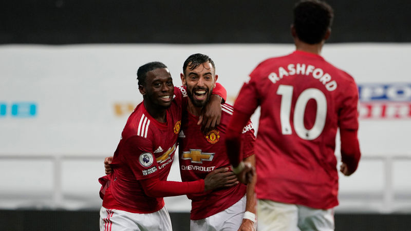 Bruno Fernandes: We didn't know Wan-Bissaka could shoot!