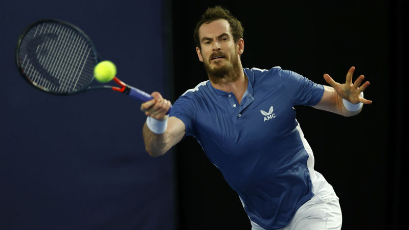 Struggling Murray pulls out of Cologne event