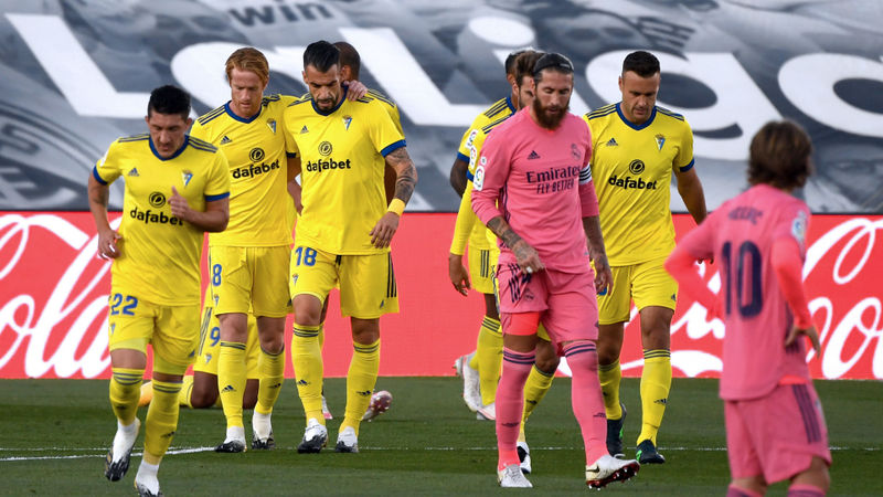 Real Madrid 0-1 Cadiz: LaLiga champions slump to shock defeat