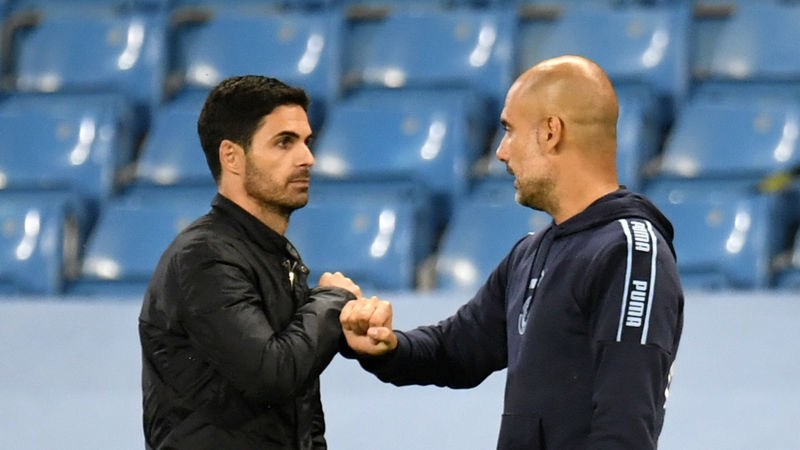 Arteta's Arsenal to host Guardiola's Man City in EFL Cup quarter-finals