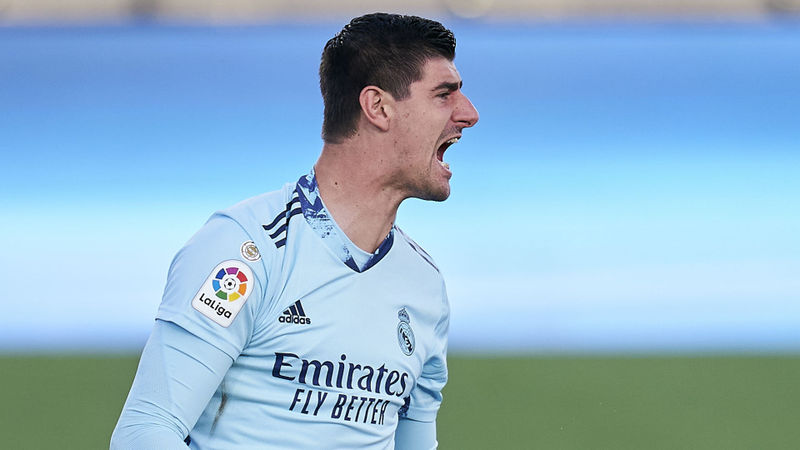 Courtois: Real Madrid still have quality to win the Champions League