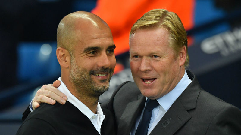 He needs time - Guardiola backs Koeman to get Barca back on track