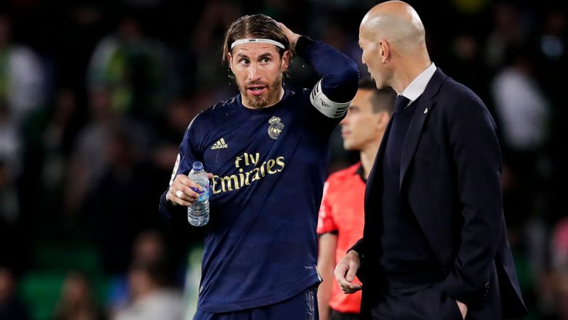 Ramos returns for Clasico as Zidane insists he is not feeling the pressure