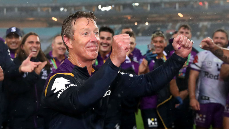 Bellamy hails Storm's 'challenging' Grand Final triumph