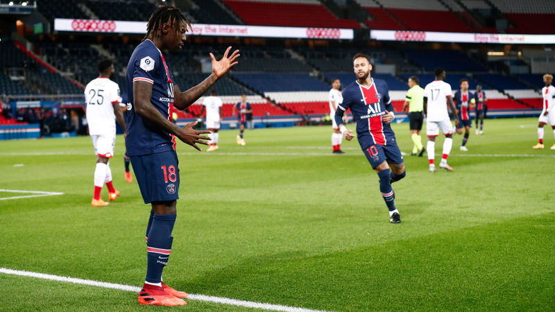 Tuchel praises Kean after forward's first PSG goals