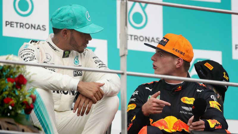 Verstappen: I'll have to race until I'm 40 to catch record-breaker Hamilton!