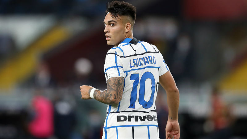 Lautaro Martinez casts doubt over long-term Inter future
