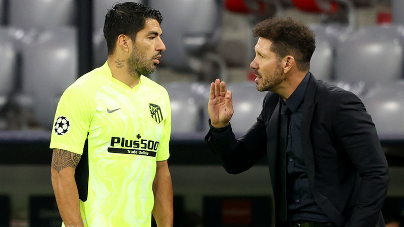 Simeone provides fitness update on Suarez after Atletico star misses training