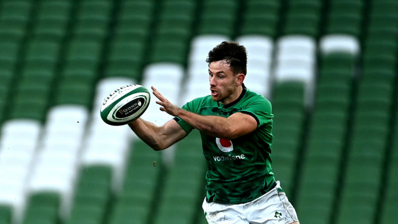 Six Nations 2020: Henshaw replaces injured Ringrose in Ireland's only change for France clash