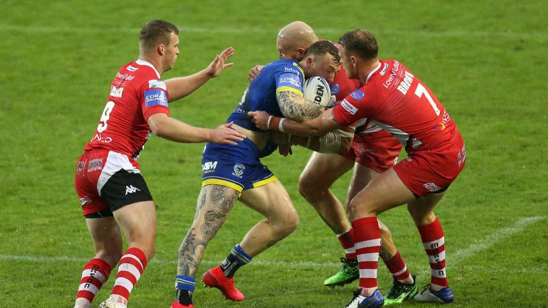Warrington awarded victory with Salford unable to fulfil fixture