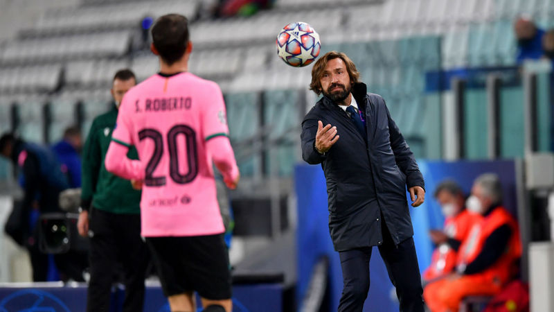 Juventus are a 'work in progress', says Pirlo after Barca defeat