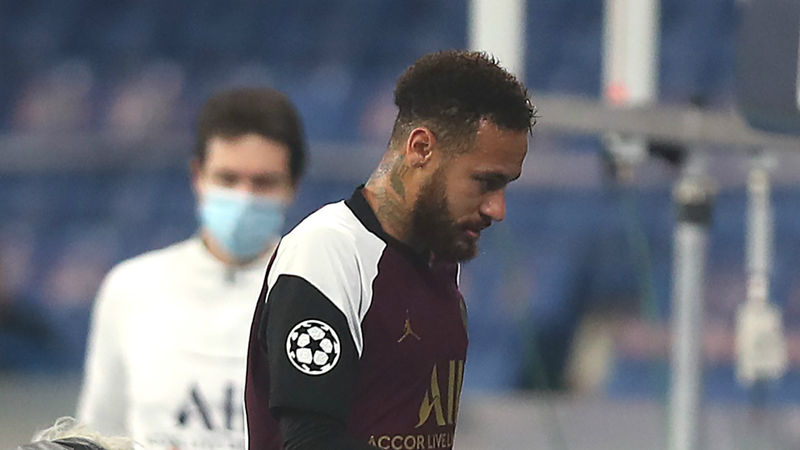 Neymar could miss PSG's next few games, fears Tuchel