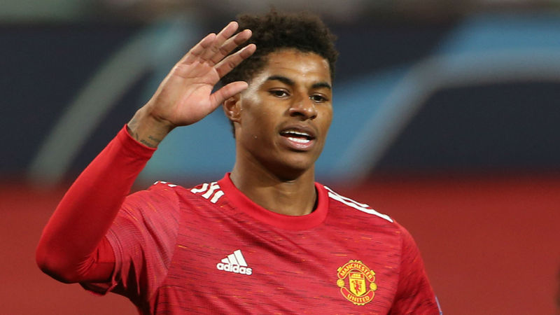 Hat-trick hero Rashford wants Old Trafford fortress