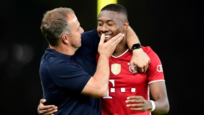 Flick expects Alaba to 'think twice' before leaving 'fun, successful' Bayern