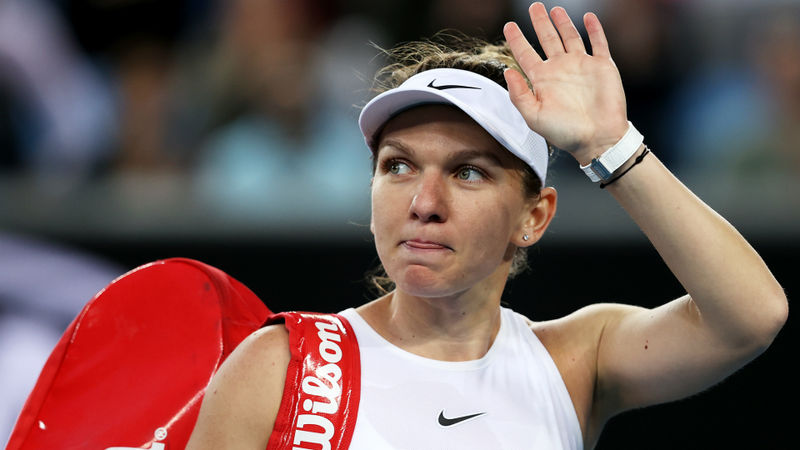 Simona Halep tests positive for coronavirus